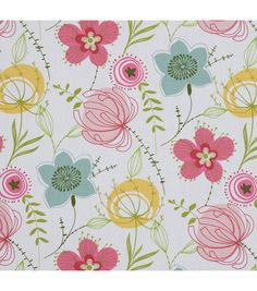 "45"" Home Essentials Fabric-Olenska Panorama Roseblush"