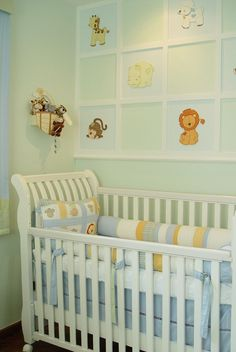 Quarto de Bebê Cor e Bichos by Atelier Rastro de Tinta - Decoração de Quartos de Bebês - Guia do Bebê