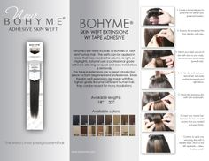 Bohyme itips available at the canyon falls hair extension boutique skin weft adhesive collection pmusecretfo Gallery