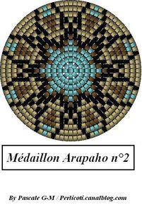 Peyote Mandala Medallion Pattern  Arapaho_2