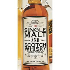 """Single Malt and Scotch Whisky"" in Bar Accessories 