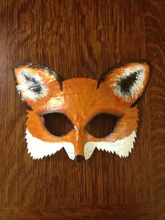 fox mask fox costume Mr. and Mrs. Fox fox and by HighMoonCreations, $15.00