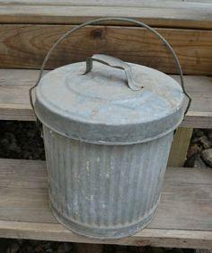 Outside summer trash bin;)