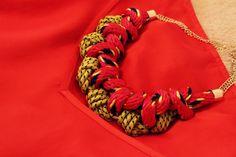 La Folie: NEW IN MONKI necklace