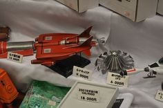 Kits from Gerry Anderson's UFO at Wonderfest Japan, 2015.