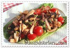 Ahtapot Salatası nasıl yapılır ? Ayrıca size fikir verecek 23 yorum var. Tarifin püf noktaları, binlerce yemek tarifi ve daha fazlası...