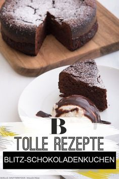 A quick cake for your guests? No problem! This chocolate cake stands jerkily on the table and also tastes heavenly. cake The post Lightning Brownies appeared first on Orchid Dessert. Cake Storage, Dorm Storage, Snacks Sains, Quick Cake, Food Cakes, Savoury Cake, Clean Eating Snacks, Quick Meals, Eat Cake