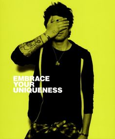 "We love One Direction's anti-bullying campaign! Zayn Malik: ""Embrace your uniqueness."""