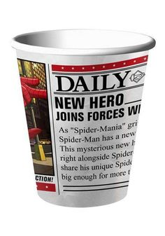Spiderman Party Cups (8)