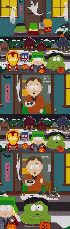 A Golden South Park Moment.