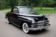 1949 Plymouth P17 Deluxe business coupe. (bringatrailer.com)