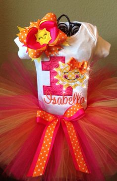 You Are My Sunshine Birthday Outfit by CindabellasBoutique on Etsy