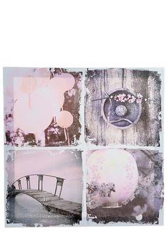 Cadre toile 38 x 38 cm - Tati.fr