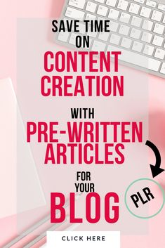 Have heard of PLR content for your blog? Sometimes we all get a little stuck and it's hard to come with new blog post ideas and fresh new blog content week after week. Check out these PLR article packs that you can use when you want to focus on things like email marketing, growing your blog traffic or when you just don't have the time to create new blog content. #affiliate #workathome #blogpostideas #momblog