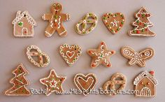 pate-à-sel-pains-dépice-biscuits-de-noel. Clay Christmas Decorations, Christmas Crafts For Kids, Christmas Tree Ornaments, Christmas Cookies, Noel Christmas, Winter Christmas, Diy Xmas, Easy Christmas Cookie Recipes, Theme Noel