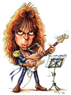 Yngwie Malmsteen - Hand there are a lot! (≧∇≦)