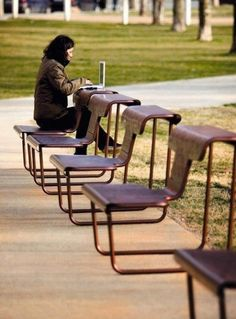 Urban Landscape Design Parks Architecture Ideas For 2019 Urban Furniture, Street Furniture, Cool Furniture, Furniture Design, Outdoor Furniture, Dining Furniture, Luxury Furniture, Urban Landscape, Landscape Design