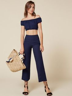 The Annabelle Two Piece  https://www.thereformation.com/products/annabelle-two-piece-navy?utm_source=pinterest&utm_medium=organic&utm_campaign=PinterestOwnedPins