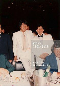 Maradona dressed up