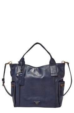 Fossil 'Emerson' Leather Satchel