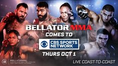 BELLATOR MMA AND CBS SPORTS NETWORK TEAM UP ON NEW TELEVISION PARTNERSHIP   COVERAGE KICKS OFF THURSDAY, OCT. 1 WITH BELLATOR 247 LIVE FROM MILAN, ITALY   PLUS, CHAMPION CRIS 'CYBORG' AND ARLENE BLENCOWE MEET IN EPIC WORLD TITLE BOUT IN PRIMETIME ON OCT. 15 LOS ANGELES – Bellator MMA, a leading mixed martial arts promotion owned by ViacomCBS, and CBS […] The post BELLATOR MMA AND CBS SPORTS NETWORK TEAM UP ON NEW TV PARTNERSHIP & WILL DEBUT CYBORG appeared first on REAL CO