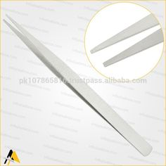Model Number: TW-914 This Tweezers is best for Ear Wires, Wrap Filigree, Traditional Jewellery Making, Wire Wrap Artists and other fine Hobby Work. Ideal for watch making and repair or for any work that requires handling small parts