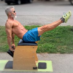 Fun, interesting, and highly effective exercise ideas. Follow for daily inspiration!   #fitness #lifestyle #exercise #ideas #inspiration Best Gym Equipment, Over 50 Fitness, Pilates Chair, Men Over 50, Chair Exercises, Sedentary Lifestyle, Healthy Aging, High Intensity Interval Training, Mature Men