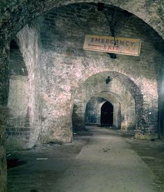 An interesting complex of tunnels and vaults are to be found close to the Roundhouse at Camden. The Camden Catacombs, as they have become known are were once owned by British Railways but have now passed into multiple ownership. Some sections were demolished during the redevelopment of the area while other sections belong to Camden Market who discourage access