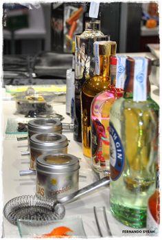 VINO, GASTRONOMIA Y VIAJES (Entre Fogones y Gin Tonics): Otra vez Taller de #GinTonics en Sueños de Cocina,...