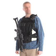 Dolt ryggsäcks-väsksystem från snigeldesign, utvecklad för spanare, personskydd och insats.