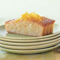 Almond-Orange Financier Recipe