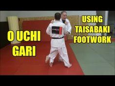 O UCHI GARI USING TAISABAKI FOOTWORK - YouTube