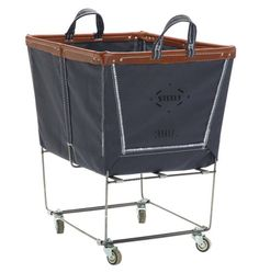 LOVE the new Steele Canvas Laundry Bins that Rejuvenation has...and right now free shipping!