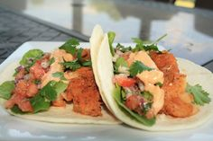 Jourdan Leigh in the kitchen: Blackened Fish Tacos w/ Remoulade Sauce