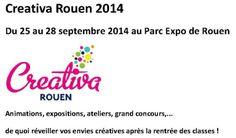 Salon Créativa Rouen 2014