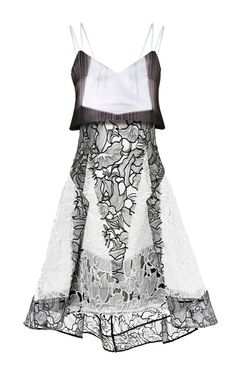 Radial Printed Lace Dress by Peter Pilotto - Moda Operandi  *You can never have to much*