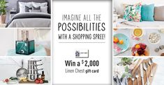 Linen Chest Cappuccino Machine Contest - Win Cappuccino Machine - Canada Giveaway and Sweepstakes Home Deco, Cash Gift Card, Canadian Contests, Contest Rules, Welcome To My House, Studio Room, Shopping Spree, Home Hacks, Kitchen Interior