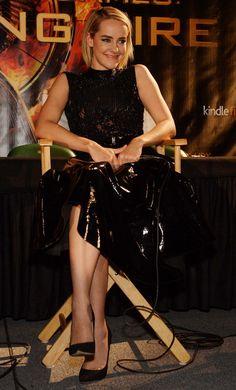 Kemal & Karla styled Jena Malone for 'Catching Fire' Miami Press.