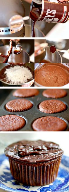 Make these Chocolate Cupcakes with Chocolate Ganache for the chocolate addict!