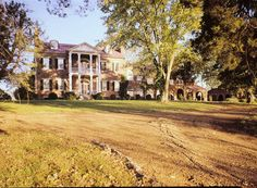 Fairview Mansion - Isaac Franklin Plantation, Gallatin Tennessee GENERAL VIEW FROM WEST