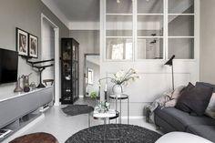[Deco] Una cocina negra en un estudio de apenas 36 m2 – Virlova Style