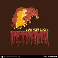 """Get """"Betrayal"""" from artist ckd today only, May 23, for $10 at RIPT Apparel. www.riptapparel.com"""