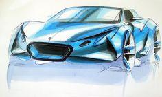 Lotus Elise Design by Vlad Mazolevsky (2012)