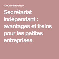 Secrétariat indépendant : avantages et freins pour les petites entreprises