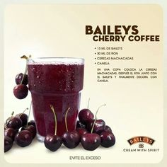 Cherry coffee Baileys