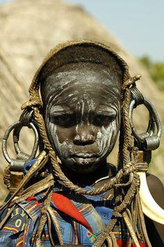 Mursi tribe kid. Ethiopia, South Omo valley by Alexandros Tsoutis on 500px