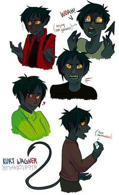 All my favorite types of Kurt!  Glasses Kurt, Worried Kurt, Angry Kurt, Blushy Kurt, Trying-new-things Kurt.