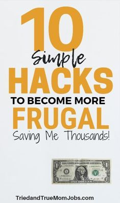 10 Creative Ways to Save That You May Have Never Considered. This is the way frugal people live that save them thousands. Money Saving Mom, Best Money Saving Tips, Ways To Save Money, Money Tips, How To Make Money, Frugal Living Tips, Frugal Tips, Online Earning, Earn Money Online