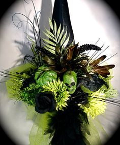 Elphaba's Party  Witch Hat Halloween Costumes by Marcellefinery, $88.00