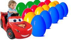 25 Киндер Сюрпризы Тачки Kinder Surprise Eggs Cars Disney Pixar Cars 2